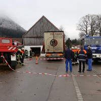 02.12.2014 LKW-in-Haus-Totalschaden-Fahrer-tot-Feuerwehr-Polizei- Rettungsdienst-Halblech-Vollsperrung-Bringezu-New-facts (94)