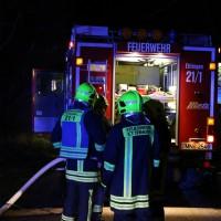 Ettringen - Starke Rauchentwicklung auf landwirtschaftlichem Anwesen im Ortskern
