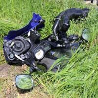 10.05.2015-Ostallgäu-Kaltental-Helmishofen-ST2035-Motorrad-19 jährige-Mauer-ohne Helm-lebensgefährlich-verletzt-Rettungswagen-Rettungshubschrauber-Notarzt-Murnau-Bringezu-Thorsten (18)