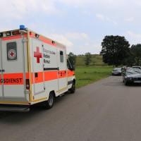 Unfall-Elbsee-Telefonmast-BMW-Seniorin-verletzt-kein Telefon-Mast-abgerissen-Rettungdienst-Hubschrauber-new-facts.eu-Thorsten-Bringezu-Aitrang (16)