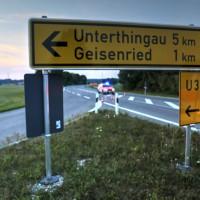 Unfall-Motorrad-Marktoberdorf-Geisenried-B472-schwer-verletzt-PKW-Rettungsdienst-Notarzt-Bringezu-new-facts (10)