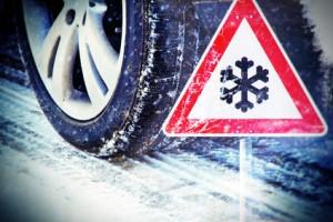 Wintereinbruch Glatteis