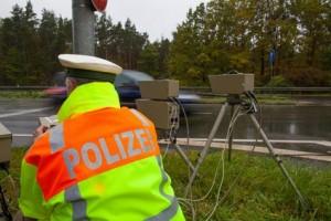 Blitzer-Marathon in Nuernberg gestartet