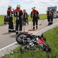 20-05-2016_Guenzburg_Kettershausen_Motorrad-Unfall-Feuerwehr_Polizei_Poeppel_0017