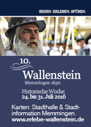 Wallenstein Anzeige hoch