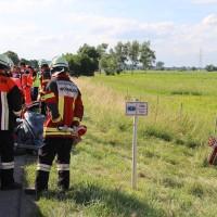 04-07-2016_A7_Woringen_motorrad-Gespann_Unfall-Feuerwehr_Poeppel_0016