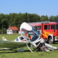 13-08-2016_Oberallgaeu_Durchach_Flugzeug_Unfall_Absturz_Feuerwehr_Poeppel_0007