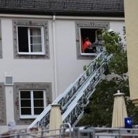 07-10-2016_Memmingen_Hotel_Stadtmitte_Gasgeruch_Raeumung_Feuerwehr_Poeppel_0012