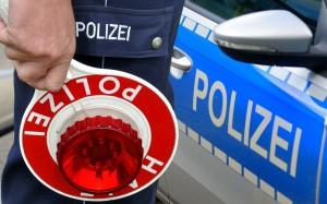 Polizei Stopp