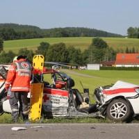 2017-07-19_B465_Leutkirch_Diepoldshofen_Unfall_DRK_Lkw_Feuerwehr_Poeppel-0026