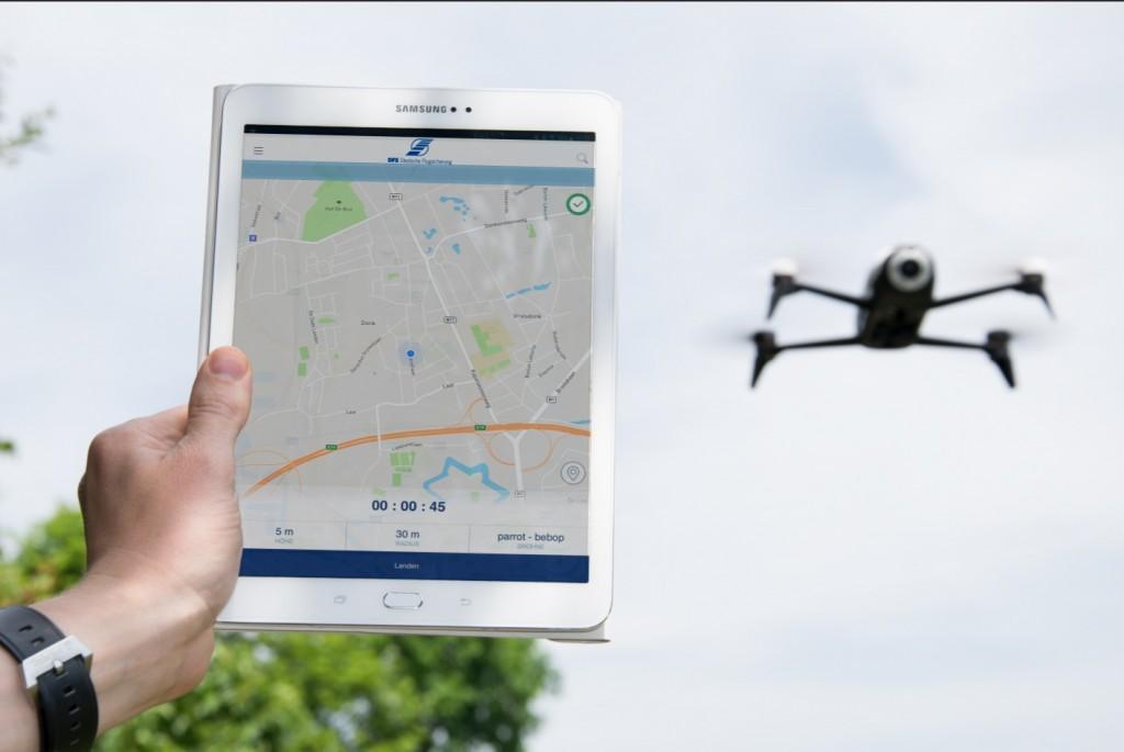 DFS Drohnen-App