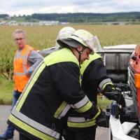 2017-09-11_A96_Holzguenz_Memmingen_Lkw-Unfall_Stauende_Feuerwehr_Poeppel_0014