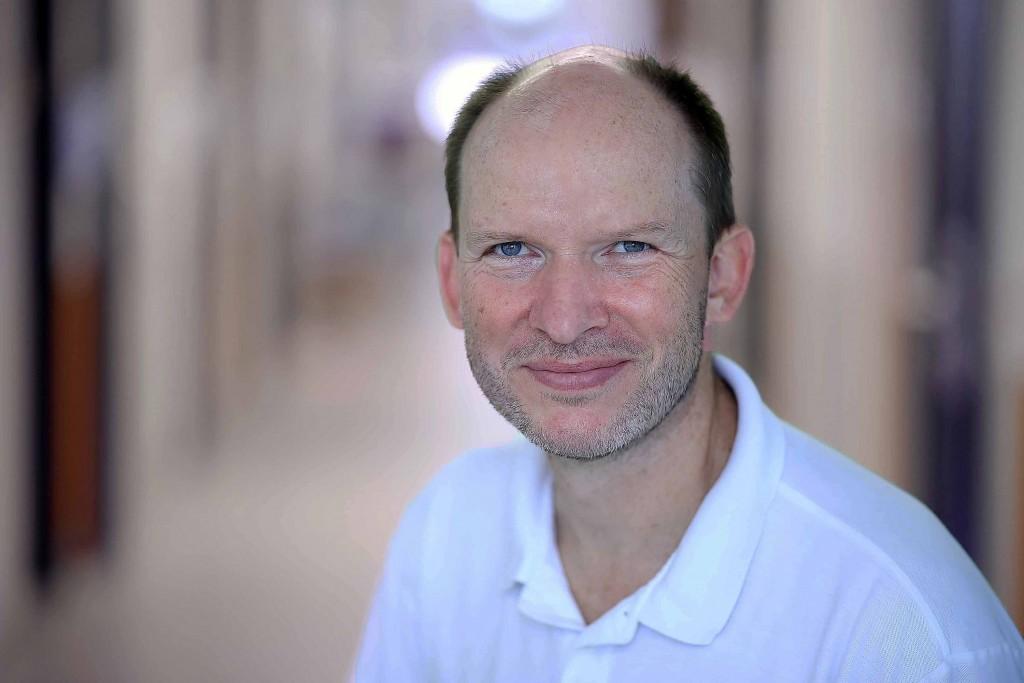 Prof. Dr. Christian Schinkel, Chefarzt der Klinik für Unfallchirurgie, Handchirurgie und Orthopädie.                                          Foto: Koch