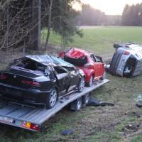 2018-0124_A96_Erkheim_Stetten_UNfall_Autotransporter_Feuerwehr_Poeppel_0006