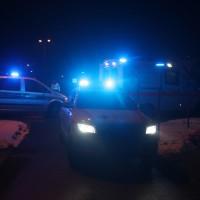 2018-02-08_Leutkirch_Pkw_Laermschutzwand_UNfall_Feuerwehr_Polizei_Poeppel_0001