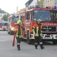 Vöhringen Ulmer Str Dachstuhlbrand
