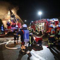 Gannertshofen Brand Asylunterkunft