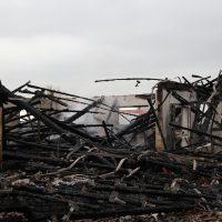 87674 Ruderatshofen, Poststr. 7 Brand einer landwirtschaftlichen Halle (7)