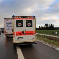 10.12.2018 Unfall A96 LKW Stetten Mindelheim (1)