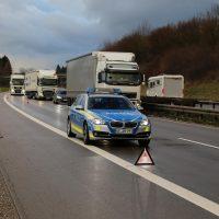 10.12.2018 Unfall A96 LKW Stetten Mindelheim (10)