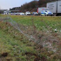 10.12.2018 Unfall A96 LKW Stetten Mindelheim (20)