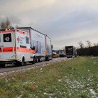 10.12.2018 Unfall A96 LKW Stetten Mindelheim (9)