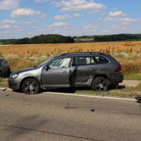16.07.2019 VU B16 Mindelheim Höhe Lohhof Feuerwehr Rettungsdienst 5 Fahrzeuge mehrere Verletzte (14)