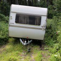 17.07.2019 Unfall Wohnwagen PKW MN37 Hoher Sachschaden (1)