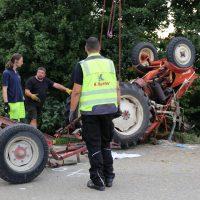 05.08.2019 Unfall Kirchheim Derndorf tödlich 22 Jahre LKW übersieht Traktor (36)