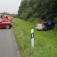 2019-08-15_A96_Aichstetten_Leutkirch_Unfall_Autobahnstrassenmeisterei_Feuerwehr_Poeppel_0035