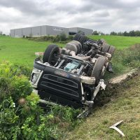 22.08.2019 Unfall schwer Wangen LKW A96 (3)