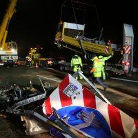 2019-11-14_A96_Memmingen_Aitrach_Unfall_Sicherungsanhaenger_Pkw_FeuerwehrIMG_2014