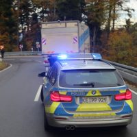 2019-11-14_B308_Scheidegg_Unfall_Pkw_Lkw_PolizeiIMG_1657 2