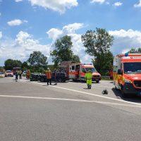 21.06.2020 Unfall B312 Frontal Feuerwehr Rettungsdienst (9)