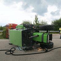 2020-07-24_B308_Durach_Sulzberg_Unfall_Traktor_Motorrad_Pkw_Poeppel_IMG_7418