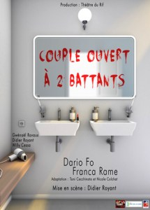 Couple ouvert à 2 battants