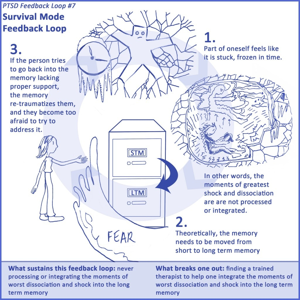 7 Ptsd Feedback Loops The Art Of Healing Trauma
