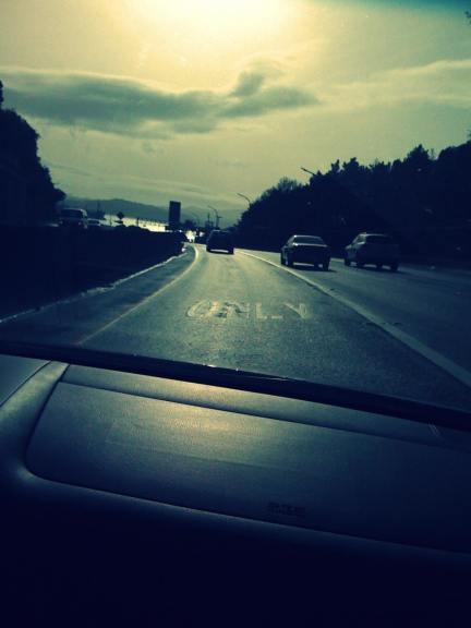 heading home