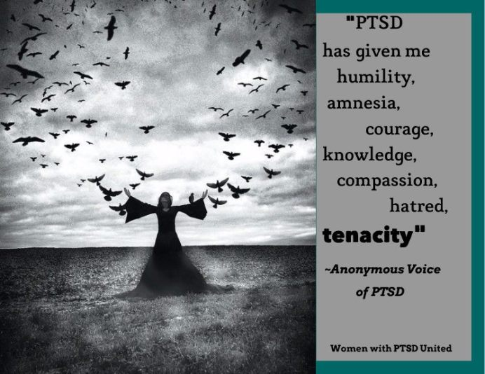 PTSD has helped me become stronger in some ways
