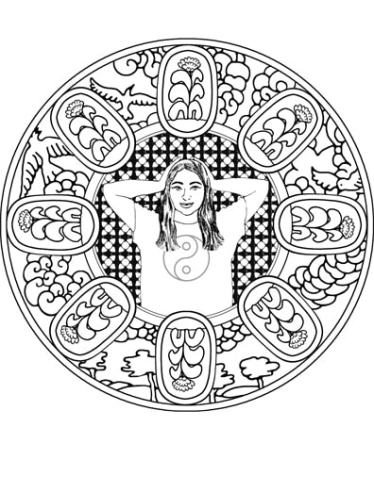Self-Holding Step 1 Coloring Page