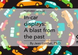 In-car displays: A blast from the past by Jean Lorchat, Ph.D