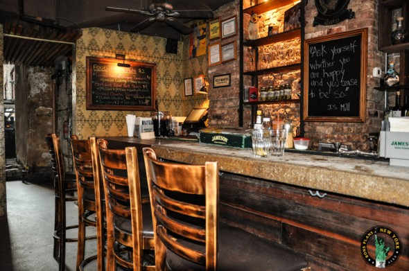 Bua Bar A Small Bar Restaurant In East Village