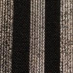 fascia nero righe argentoda 40mm