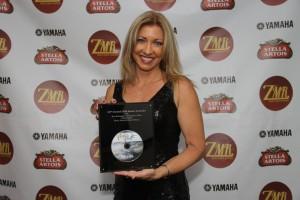 Sherry Finzer award ceremony zmr - newagecd