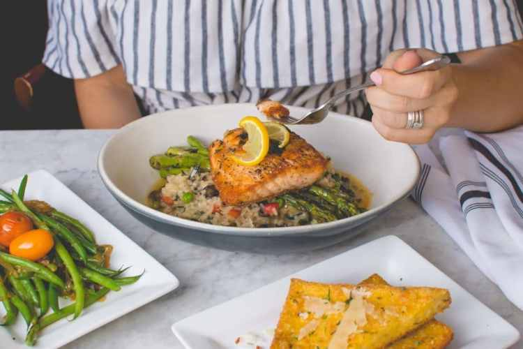 healthy food to lose weight salmon