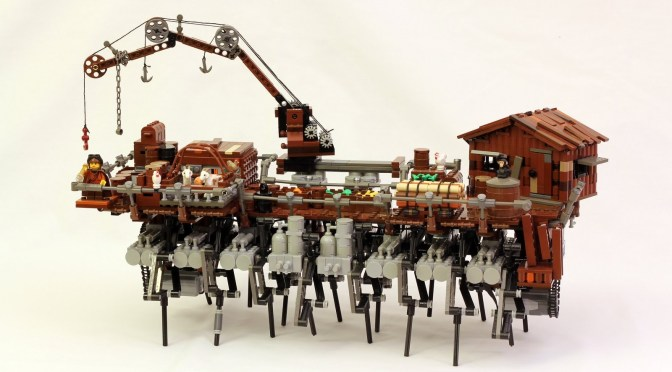 LEGO Steampunk Walking Ship (Strandbeest)