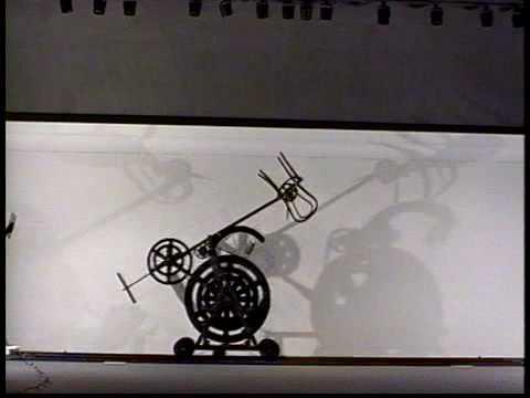 Machine with Chair by Arthur Ganson