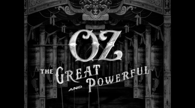 Oz The Great and Powerful title sequence by yU+co