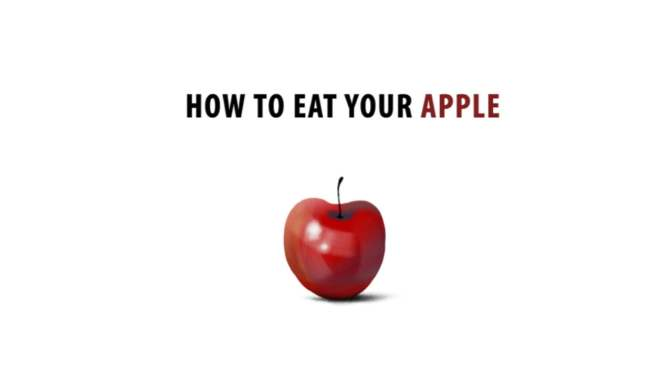 How to eat your appel by Erick Oh