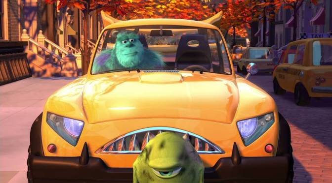 Mike's New Car by Pixar